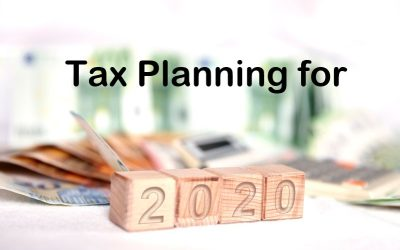 TAX PLANNING in a Unique Year